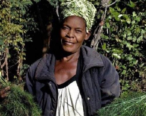 Woman Farming at the Ila Community Farm
